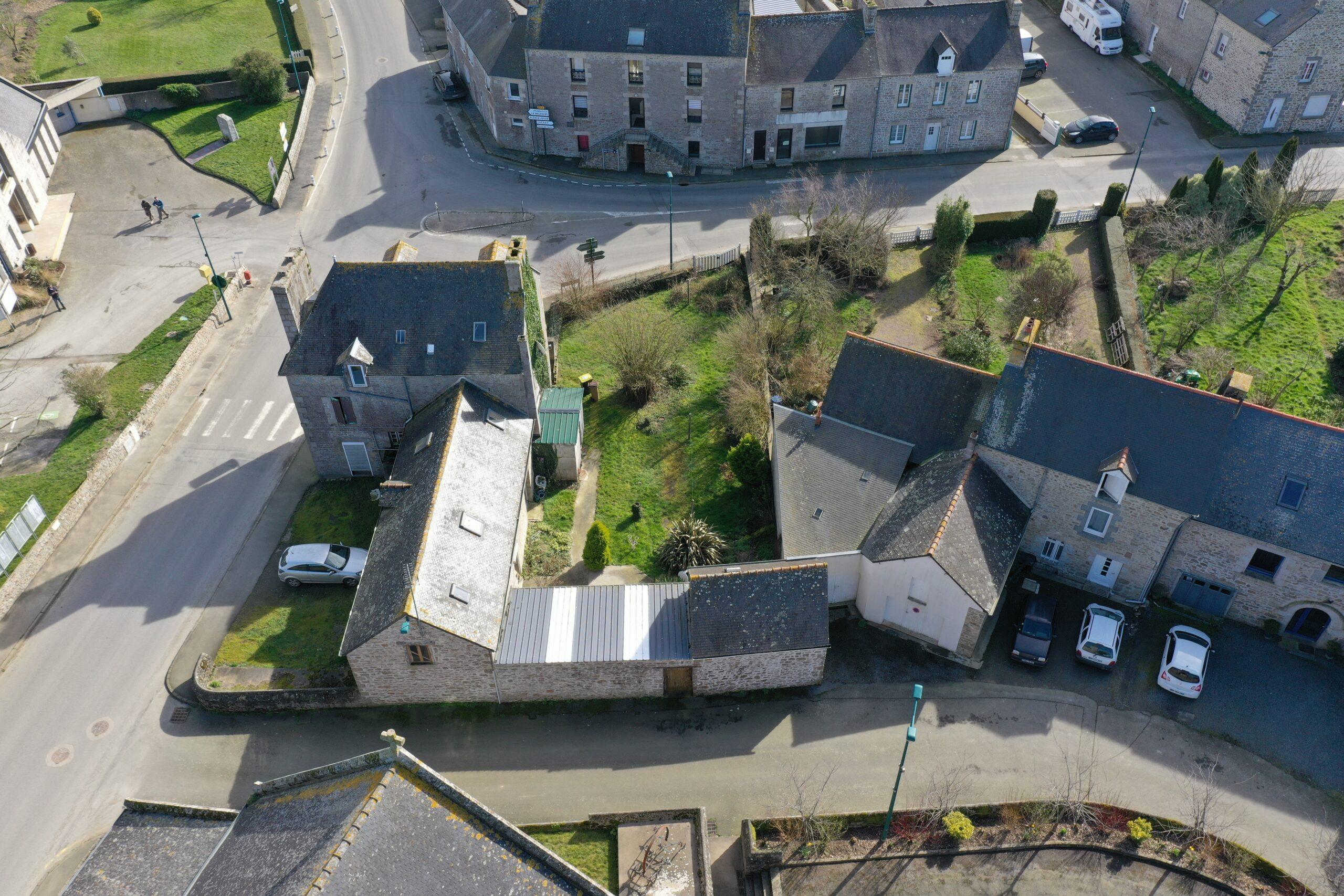 Restructuration complète de 2 maisons typiques Bretonnes d'époque