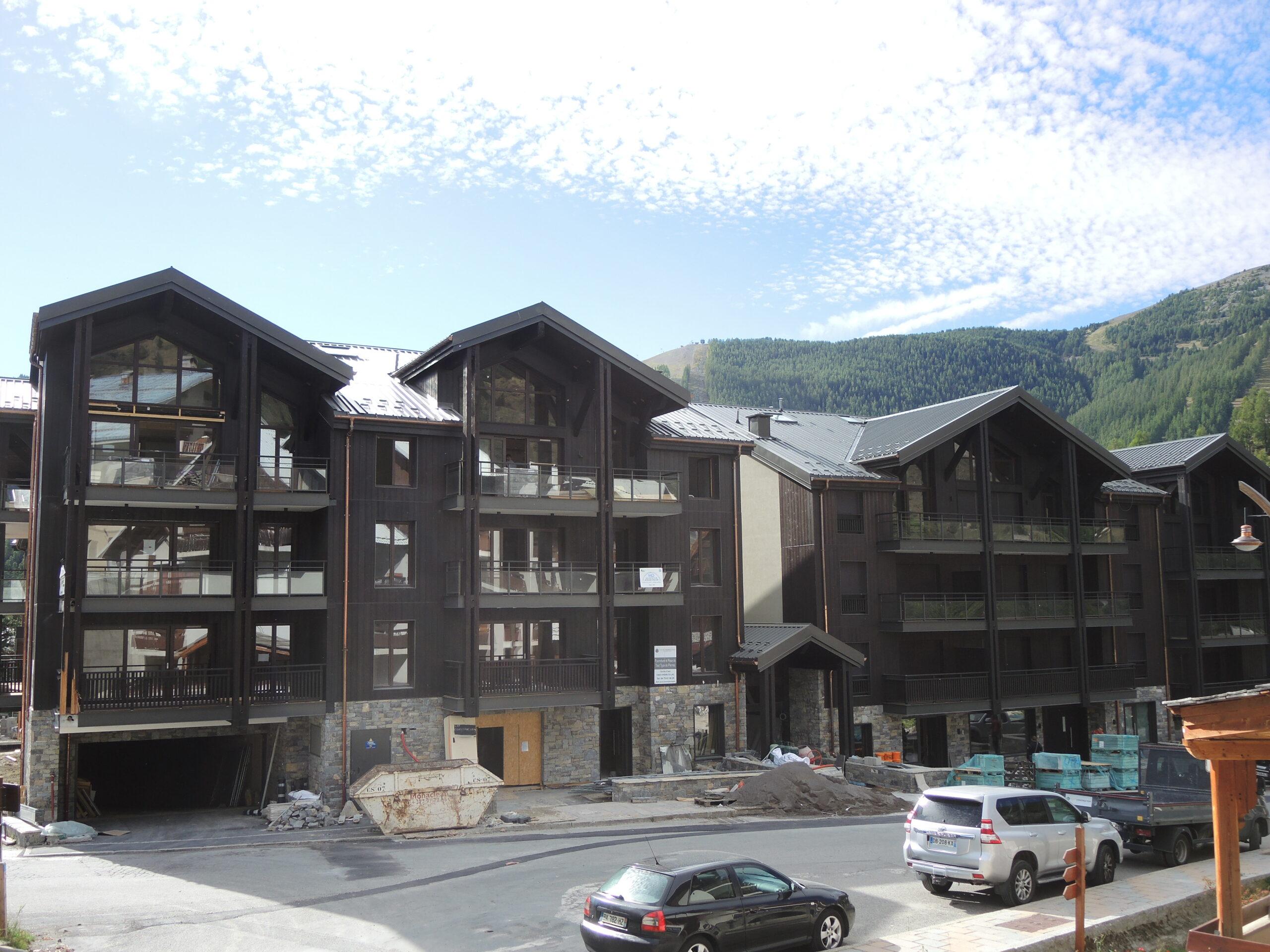 Création d'une résidence de 64 appartements à AURON – Alpes Maritimes